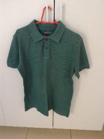 Camisa Polo M verde
