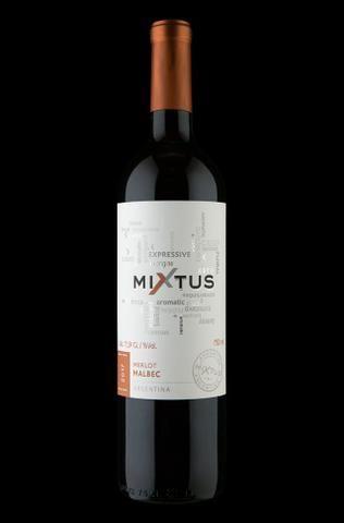 Vinho Tinto Argentino Mixtus Merlot Malbec 2017 750 ml