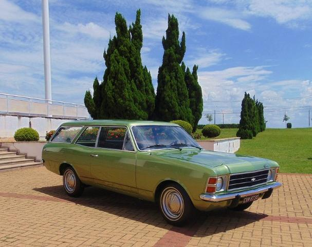 Gm - Chevrolet Caravan 1976 Placa Preta - Foto 3
