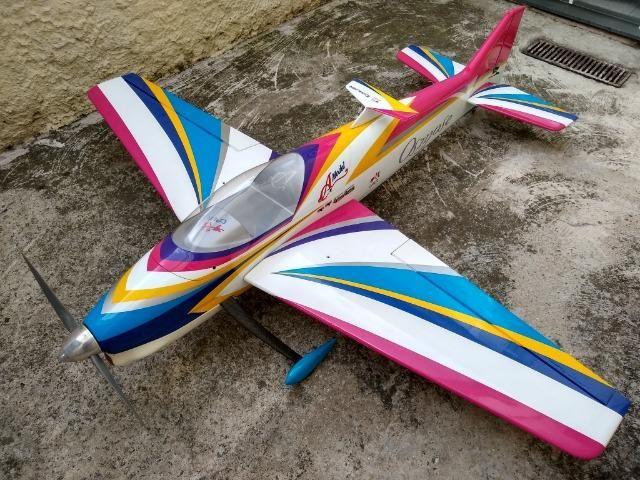 Aeromodelo Osmose Giant F3a Ys 175 Cdi - Camodel + 2 Motores Ys 170 Cdi 9bfefa97a8e