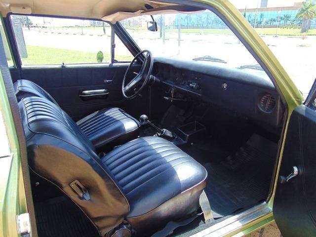 Gm - Chevrolet Caravan 1976 Placa Preta - Foto 4