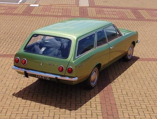 Gm - Chevrolet Caravan 1976 Placa Preta