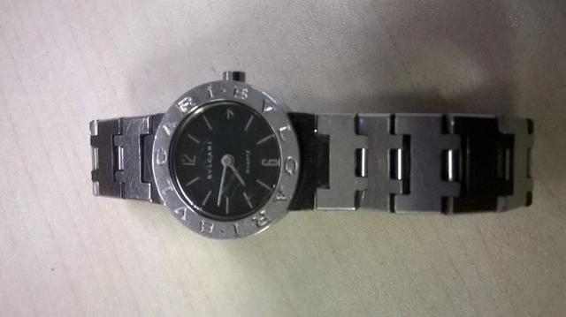 826c3575960 Relógio Bvlgari  usado - Bijouterias