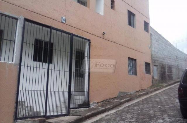 Apartamento com 1 dormitório para alugar, 37 m² por R$ 550/mês - Jardim Albertina - Guarul