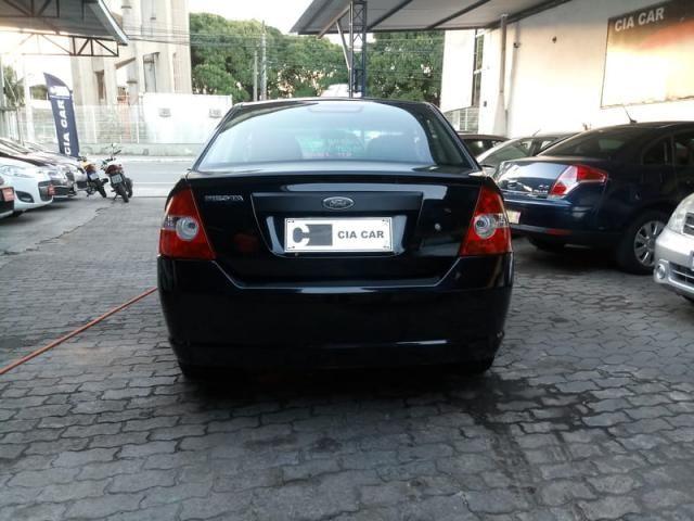 Fiesta Sedan Flex Completo Baixa KM Ideal UBER! Troco Financio - Foto 3