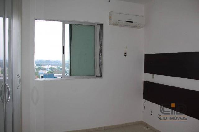 Apartamento com 3 dormitórios à venda, 85 m² por r$ 360.000 - alvorada - cuiabá/mt - Foto 12