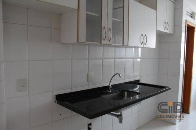 Apartamento com 3 dormitórios à venda, 85 m² por r$ 360.000 - alvorada - cuiabá/mt - Foto 16
