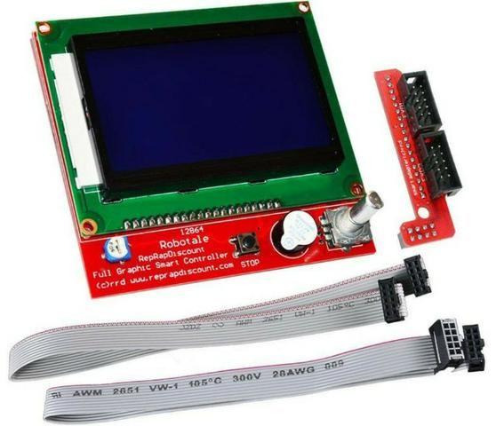 COD-AM278 Display Lcd 128x64 12864 Painel De Controle Impressora 3D Arduino Automação
