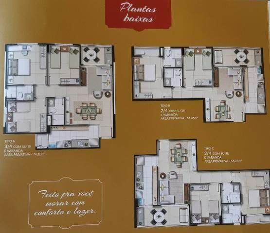 Na Olivia Flores, apartamentos de 2 ou 3 quartos com varanda Gourmet - Foto 17