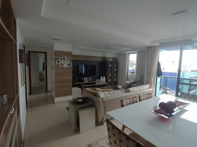 Apartamento 89m na beira mar do Cabo Branco - Foto 13