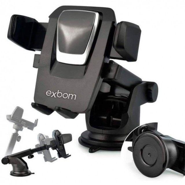 Suporte veicular para smartphone para Exbom - Foto 2