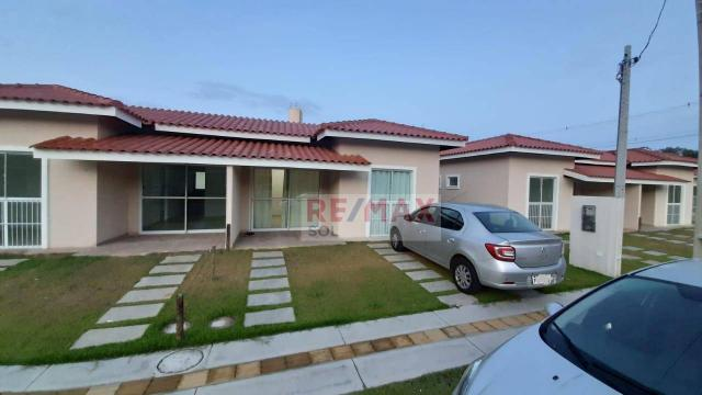 Casa cond. residencial Acássia com 2 quartos sendo 1 suíte, 67 m² por R$ 285.000- Reserva