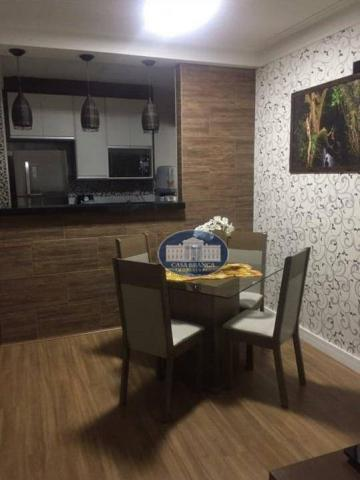 Apartamento com 3 dormitórios à venda, 57 m² por R$ 200.000 - Vila Alba - Araçatuba/SP - Foto 6