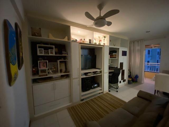 Apartamento 1 Dormitorio Garagem Coberta no Res.Vila Ventura em Coqueiros - Foto 3
