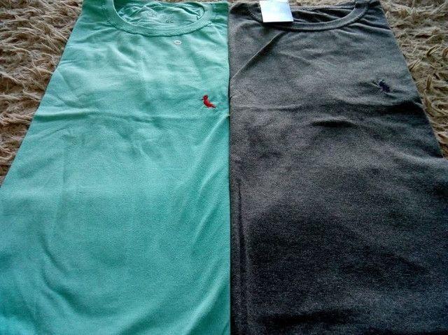 Atacado Camisetas Multimarcas fio 30.1 - Foto 4