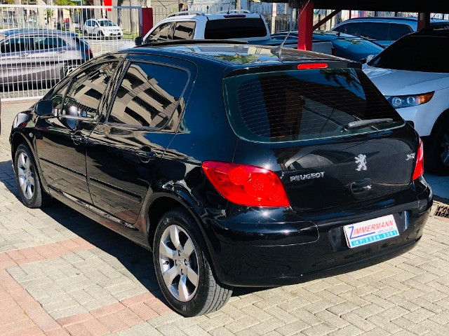 Peugeot 307 presence pack 1.6 2010 com teto solar e ipva 2020 pago - Foto 7