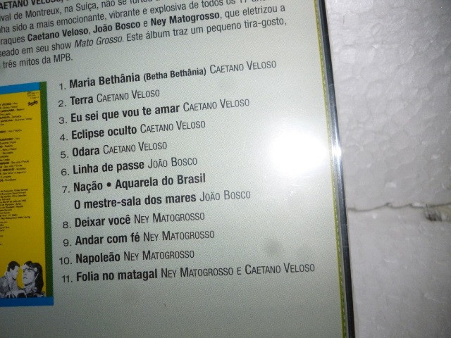 Caetano Veloso, João Bosco e Ney Matogrosso - Brazil Night Montreux 83 - Foto 2