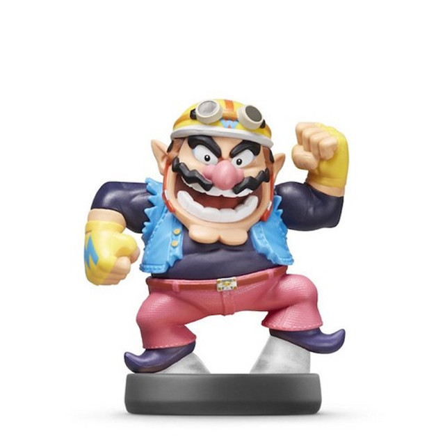 Boneco Amiibo Super Smash Bros Wario - Foto 2