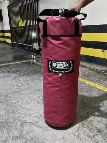 Saco Boxe Pancada Punch 90cm - Foto 2