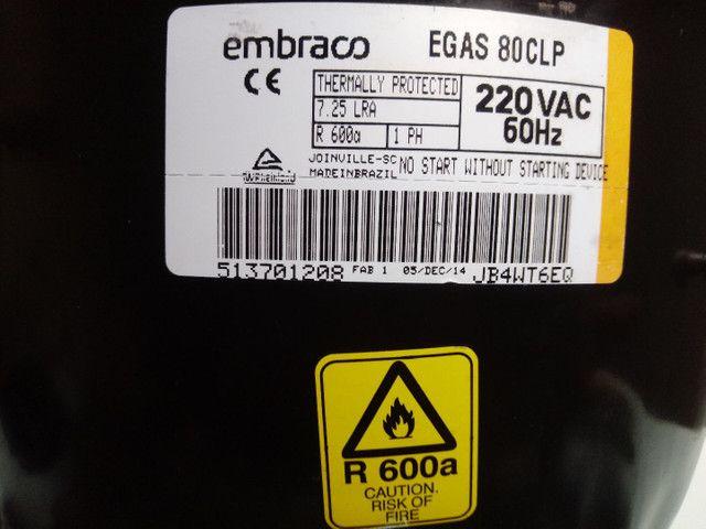 Vendo motor de geladeira novo na caixa - Foto 6