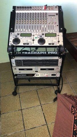 Synthesizer Yamaha MM6 mesa de som staner , Equalizer , DVX para DJ - Foto 4