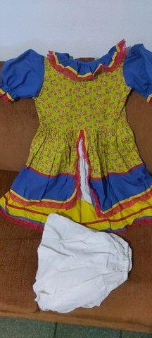 Lindo vestido de festa junina - Foto 5