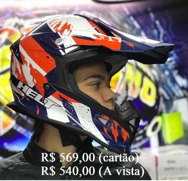 Capacete Off-Road helt e X11 a partir de R$ 520,00 JL Parts - Foto 6