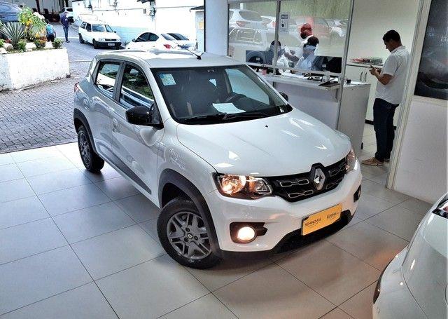 Renault Kwid Intense 1.0 12V Sce 4P Flex - Foto 4