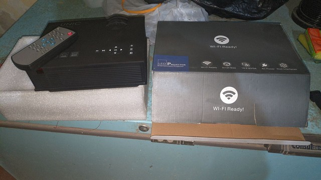 Projetor unic wi_ fi readyi - Foto 2