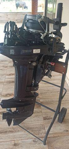 Motor Popa Nissan Marine 18 HP. - Foto 4