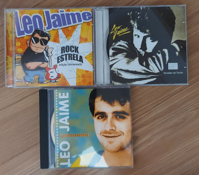 Combo Leo Jaime: 3 cds