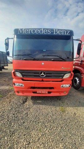 MB Atego 2425/2008 Truck Carroceria em ótimo estado!!! - Foto 3