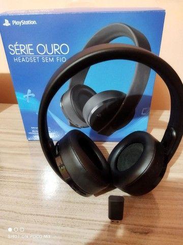 Headset Sony Gold V2