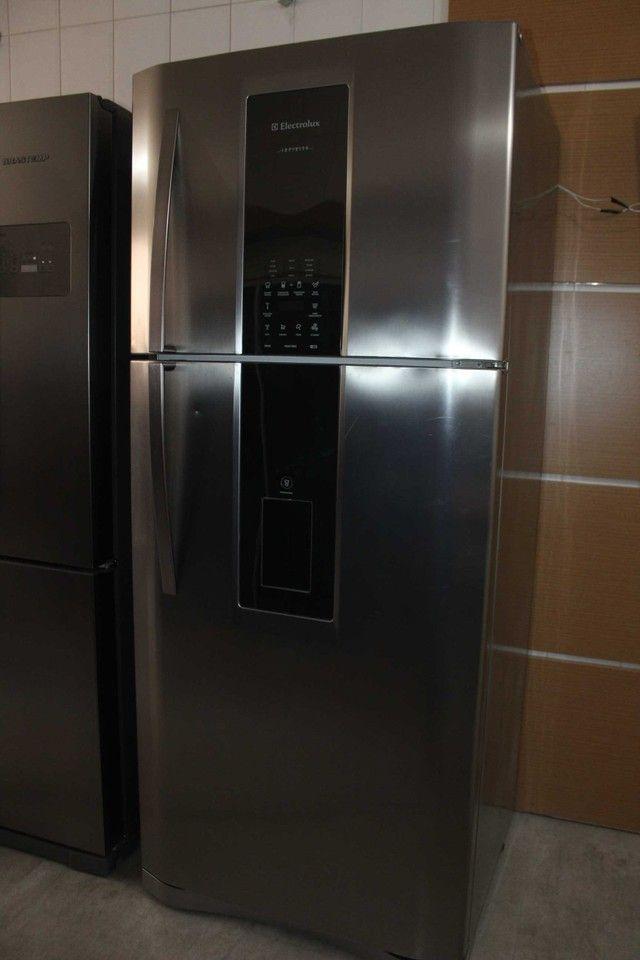 Geladeira Duplex Frost Free Infinity 542 Litros Electrolux DI80X / 127V