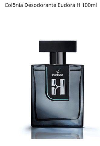 Eudora H Colônia Desodorante 100ml Masculino de Eudora Nova na Caixa Lacrada
