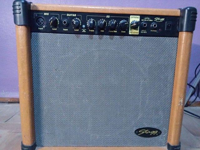 Amplificador de guitarra 40 W USA  - Foto 3