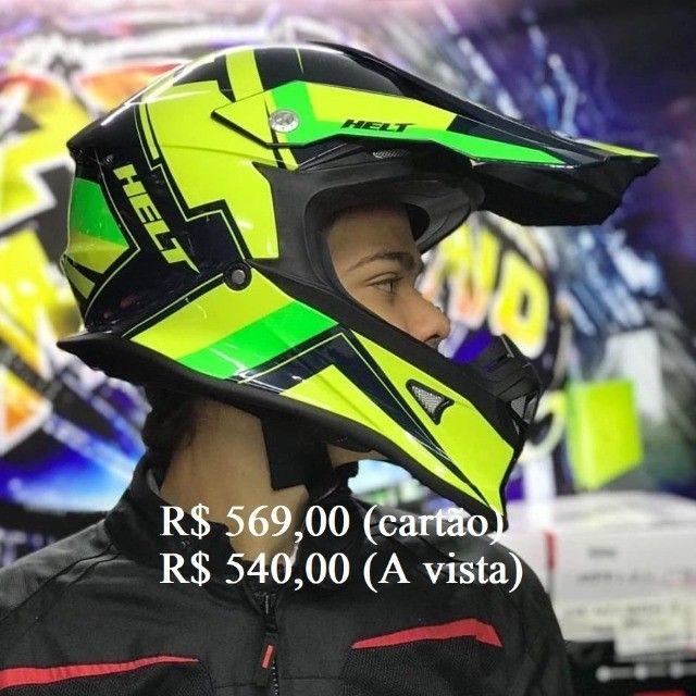 Capacete Off-Road helt e X11 a partir de R$ 520,00 JL Parts - Foto 5