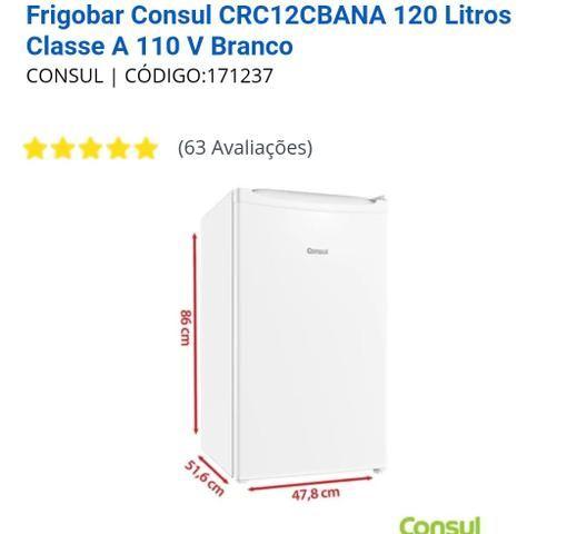 Frigobar Consul 120l