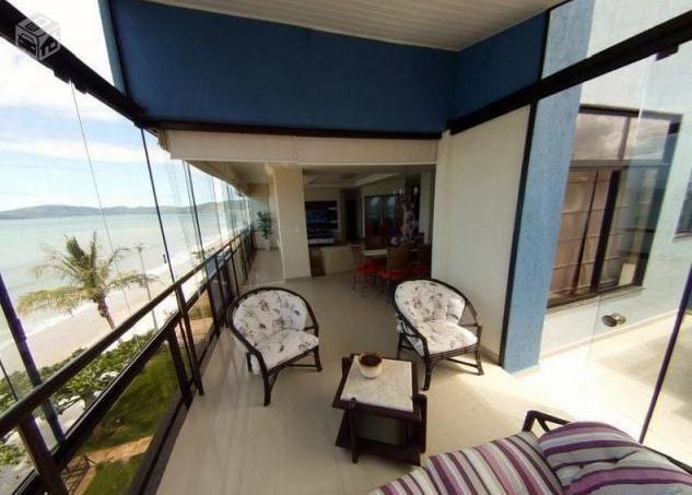 Cobertura Duplex frente para a praia com piscina - Meia Praia - Foto 3