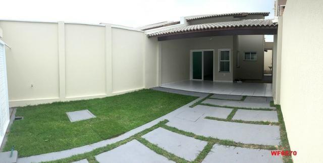 Casa plana na Sapiranga, 3 suítes, 2 vagas, casa nova, Próx Edilson Brasil Soares