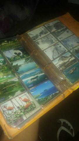 Vende-se ou troca coleção de cartão antigo