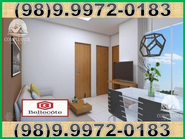 Bellecôte, apartamentos com 2 quartos, 42 a 48 m² Maiobão - São José de Ribamar/MA - Foto 7