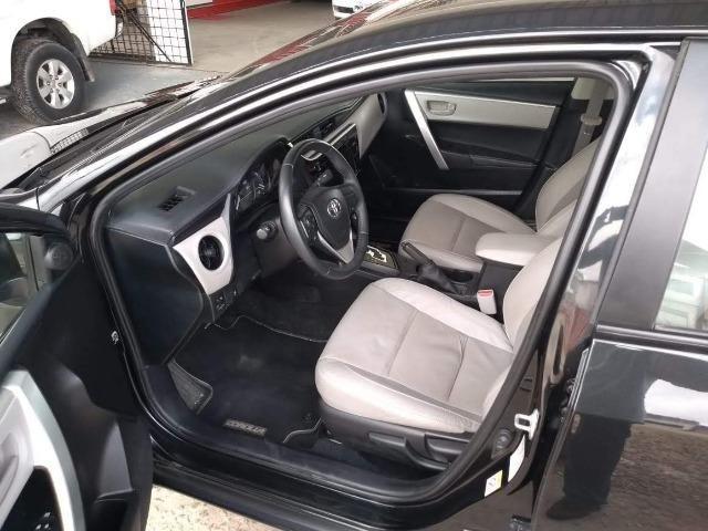 Toyota- Corolla GLI Upper 1.8 Aut. Flex, Ipva 2019 pago, Completo, Garantia até 2020, Novo - Foto 8