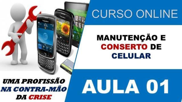 Curso de manutenção em celular