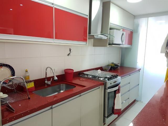 Apartamento com 3 dormitórios à venda, 69 m² por R$ 420.000 - Capão Raso - Curitiba/PR - Foto 7