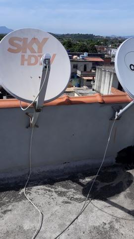 Instalação e manutenção da sky e oi tv