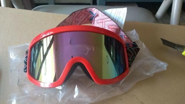 Oculos Proteção Cross Espelhado e Cristal - Diversas Cores = Atualizado !!! - Foto 7