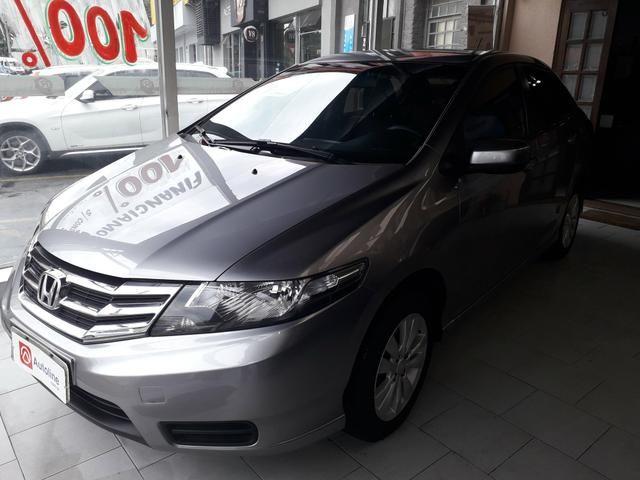Honda -City Lx 2013 Mecânico c/Couro Sem consulta Score p/Financiamento!!!