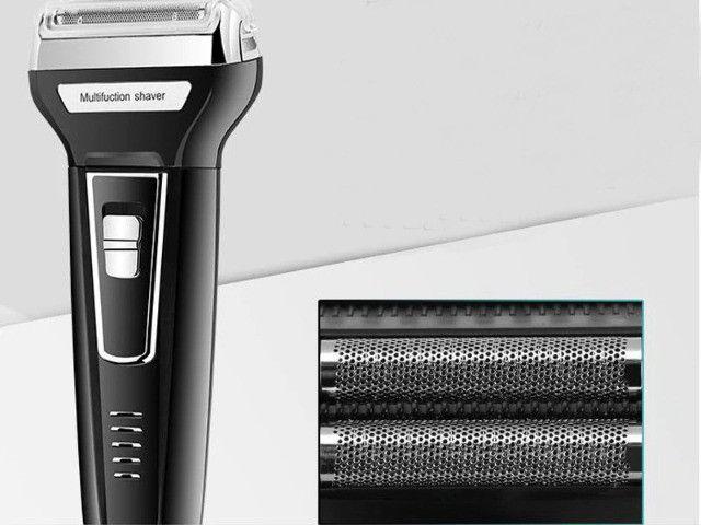 Máquina Cortar Cabelo, Nariz E Barbear Shaver Kemei 3 Em 1 - Foto 6