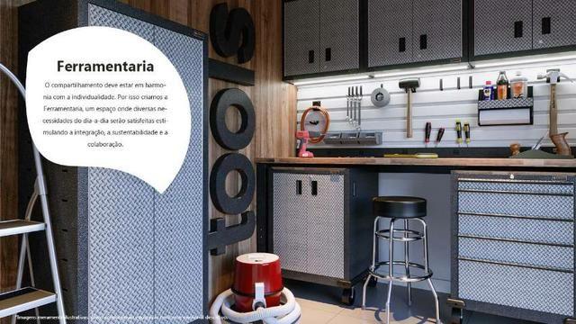 _= Excelente apartamento de 02 quartos,  suíte ,  100% financiado.  Fazendinha  - Foto 12